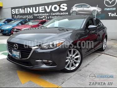 Mazda 3 Sedan i Sport usado (2018) color Gris Titanio precio $255,000
