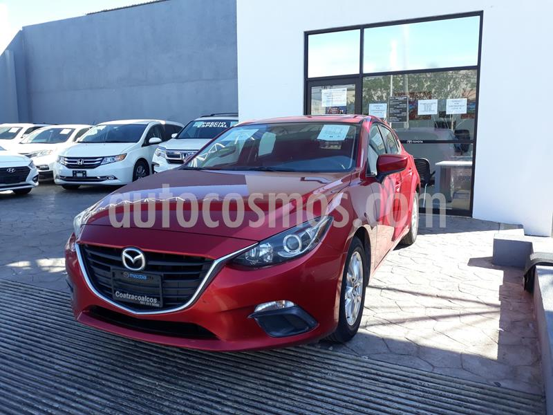 Mazda 3 Sedan i Touring usado (2016) color Rojo precio $185,000