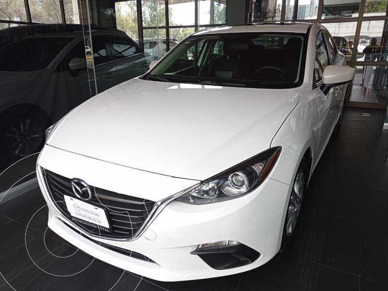 Mazda 3 Sedan i 2.0L Touring Aut usado (2014) color Blanco precio $155,000