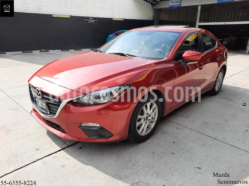 Mazda 3 Sedan i Touring Aut usado (2016) color Rojo precio $219,900