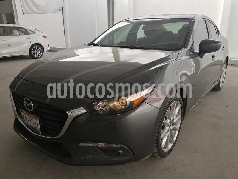 Mazda 3 Sedan I Sport Aut usado (2018) color Gris Titanio precio $275,000