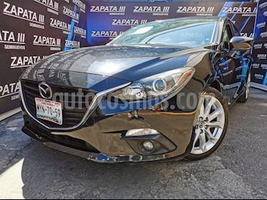 Mazda 3 Sedan s Aut usado (2016) color Negro precio $210,000