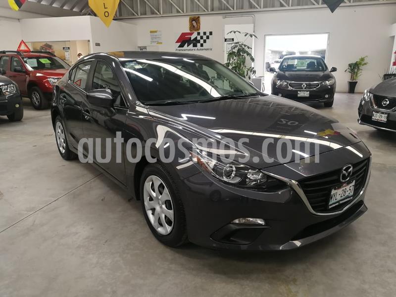 Mazda 3 Sedan i usado (2016) color Gris Meteoro precio $189,000