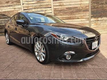 Mazda 3 Sedan s Grand Touring Aut usado (2014) color Gris Oscuro precio $195,000