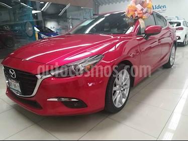 Mazda 3 Sedan s Grand Touring Aut usado (2017) color Rojo precio $274,000