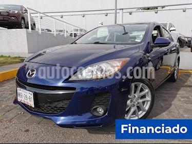 Mazda 3 Sedan i Sport usado (2012) color Azul Marino precio $63,750