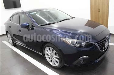 Mazda 3 Sedan s Aut usado (2015) color Azul precio $210,000