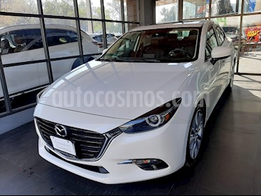Mazda 3 Sedan s Grand Touring Aut usado (2017) color Blanco Perla precio $270,000