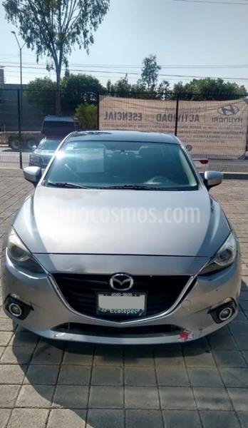 Mazda 3 Sedan s Grand Touring Aut usado (2016) color Plata precio $225,500