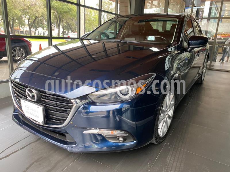 Mazda 3 Sedan s Grand Touring Aut usado (2018) color Azul Marino precio $283,000
