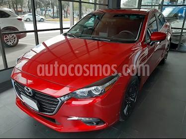 Mazda 3 Sedan s Aut usado (2017) color Rojo precio $245,000
