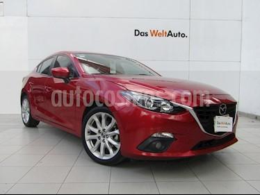 Mazda 3 Sedan s Aut usado (2015) color Rojo precio $198,000