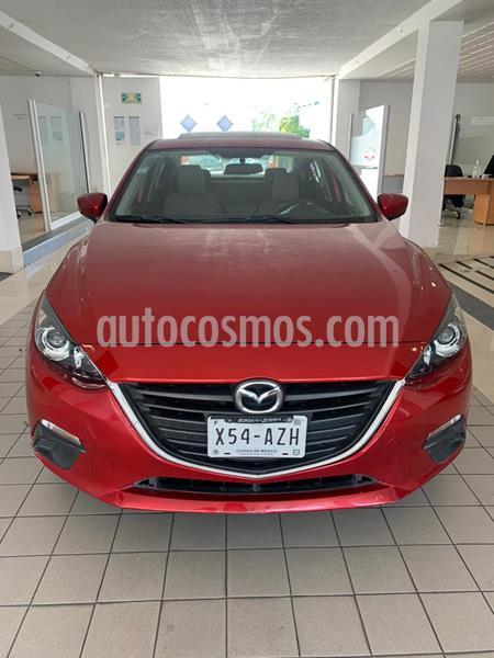 Mazda 3 Sedan i Touring Aut usado (2016) color Rojo precio $189,000