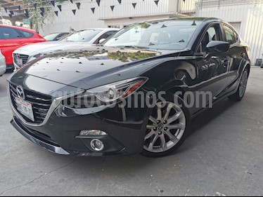 Mazda 3 Sedan s Grand Touring Aut usado (2016) color Negro precio $230,000
