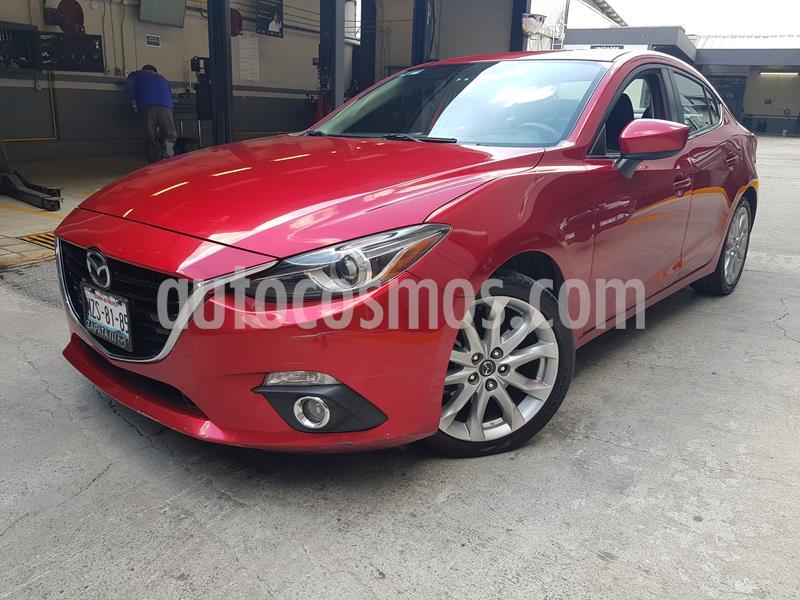 Mazda 3 Sedan s Grand Touring Aut usado (2016) color Rojo precio $235,000