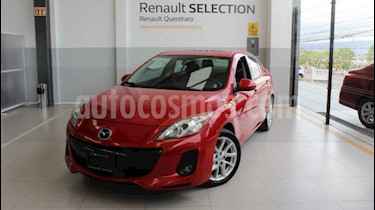 Mazda 3 Sedan s usado (2012) color Rojo precio $145,000