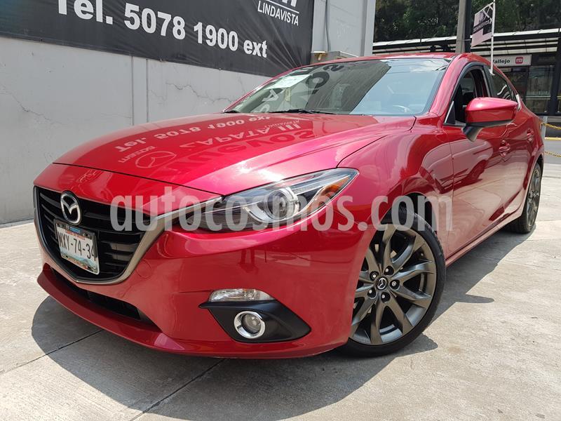 Mazda 3 Sedan s Grand Touring Aut usado (2016) color Rojo precio $240,000