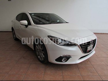 Mazda 3 Sedan i Grand Touring Aut usado (2015) color Blanco precio $210,000