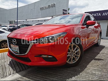Mazda 3 Sedan i 2.0L Touring Aut usado (2018) color Rojo precio $250,000