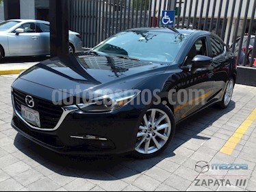 Mazda 3 Sedan s Grand Touring Aut usado (2017) color Negro precio $265,000