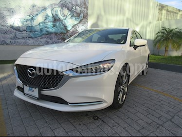 Mazda 3 Sedan i Grand Touring Aut usado (2019) color Blanco precio $469,000