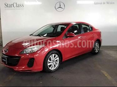 Mazda 3 Sedan i Touring usado (2013) color Rojo precio $129,000