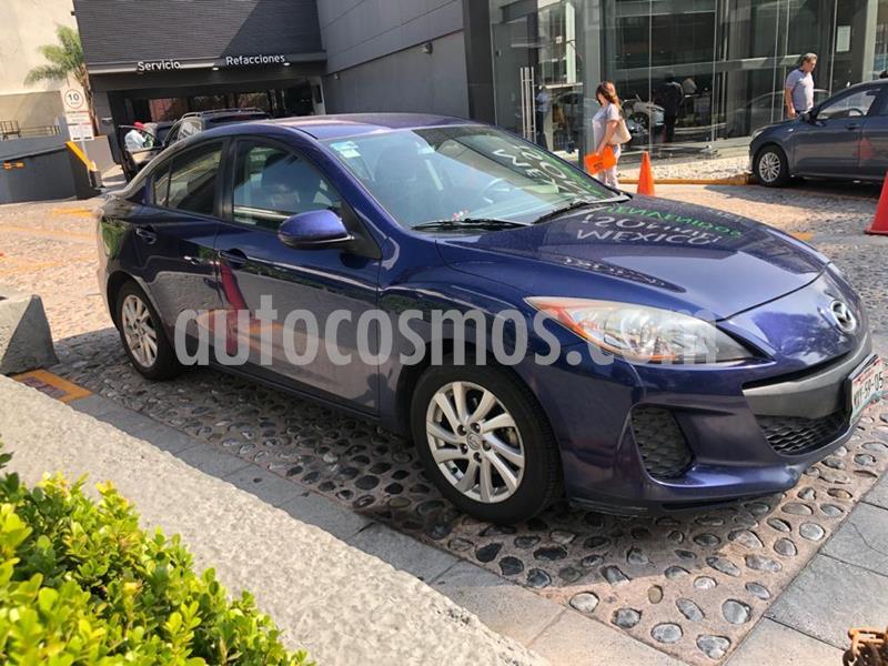 Mazda 3 Sedan i Touring Aut usado (2012) color Azul precio $140,000