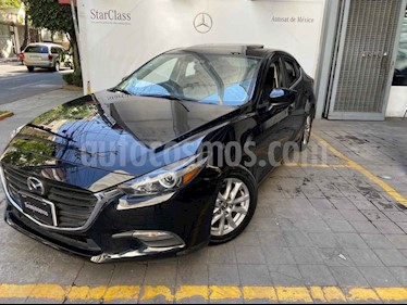 Mazda 3 Sedan s Grand Touring Aut usado (2017) color Negro precio $270,000