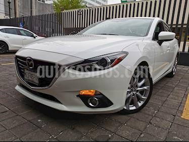 Mazda 3 Sedan s Grand Touring Aut usado (2015) color Blanco Perla precio $210,000