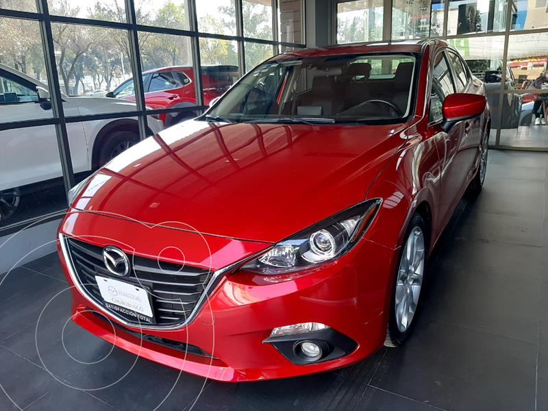 Mazda 3 Sedan I Sport Aut usado (2016) color Rojo precio $205,000