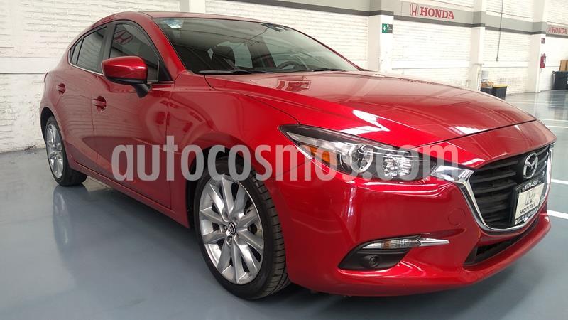 Mazda 3 Sedan s usado (2017) color Rojo precio $267,000