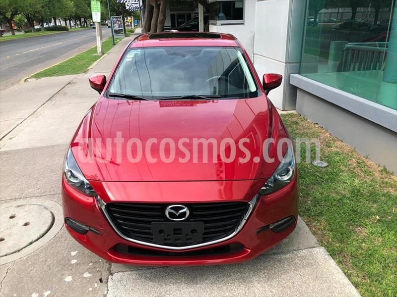 Mazda 3 Sedan i Touring Aut usado (2018) color Rojo precio $269,000