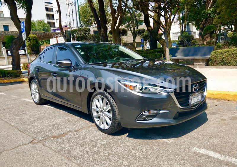 Mazda 3 Sedan s Grand Touring Aut usado (2018) color Gris Titanio precio $295,000