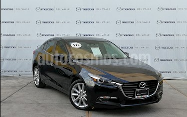 Mazda 3 Sedan s Grand Touring Aut usado (2018) color Negro precio $330,000