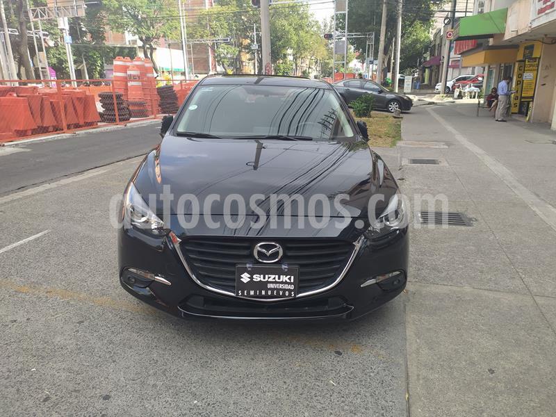 Mazda 3 Sedan s Aut usado (2018) color Negro precio $269,000