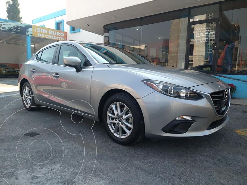 Mazda 3 Sedan i 2.0L Touring Aut usado (2015) color Plata Dorado precio $205,000