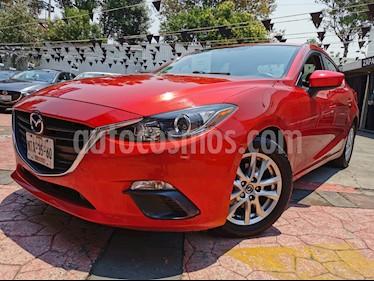 Mazda 3 Sedan i Touring Aut usado (2015) color Rojo precio $180,000