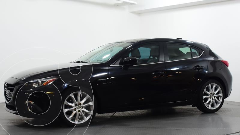Mazda 3 Sedan s Grand Touring Aut usado (2015) color Negro precio $210,000