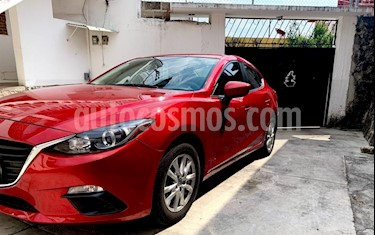 Mazda 3 Sedan i Touring Aut usado (2016) color Rojo precio $192,500