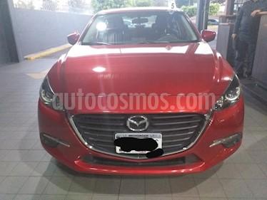 Mazda 3 Sedan s usado (2017) color Rojo precio $240,000