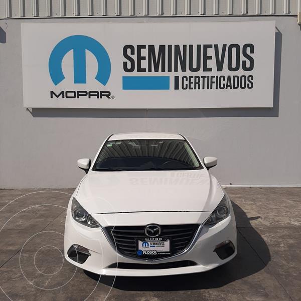 Mazda 3 Sedan I Sport Aut usado (2014) color Blanco precio $165,000