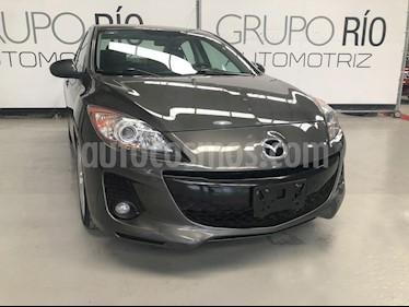 Foto venta Auto usado Mazda 3 Sedan s Aut (2013) color Gris precio $158,000