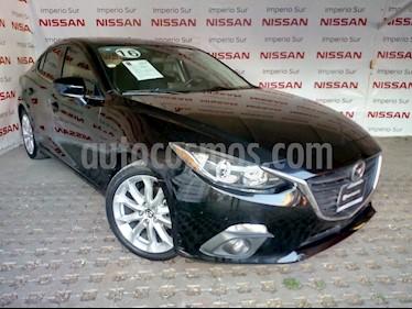 Foto venta Auto usado Mazda 3 Sedan s Aut (2016) color Negro precio $243,000