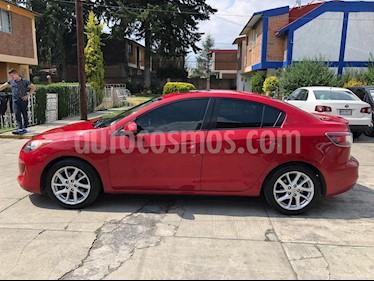 Mazda 3 Sedan s Aut usado (2012) color Rojo precio $120,000