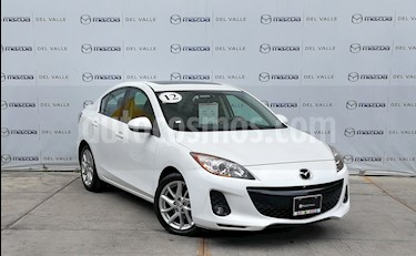 foto Mazda 3 Sedan s Aut usado (2012) color Blanco precio $149,000