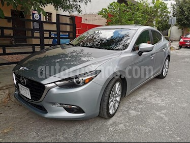Mazda 3 Sedan s Grand Touring Aut usado (2018) color Gris Titanio precio $290,000