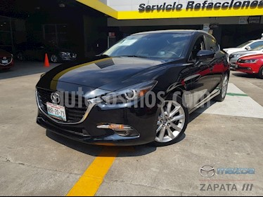 Mazda 3 Sedan s Grand Touring Aut usado (2017) color Negro precio $285,000