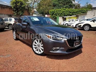 Foto venta Auto usado Mazda 3 Sedan s Grand Touring Aut (2018) color Gris Titanio precio $295,000
