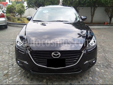 Mazda 3 Sedan s Grand Touring Aut usado (2018) color Negro precio $295,000