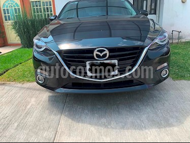 Mazda 3 Sedan s Grand Touring Aut usado (2016) color Negro precio $254,900